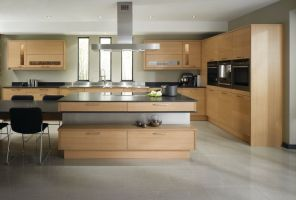 Oak - fresh and mellow is the perfect choice for a simple & sleek contemporary styled kitchen.