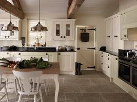 This chunky solid timber door with a classic simple shaker style gives a timeless, enduring kitchen which will last for years without dating. It can be dressed with modern or traditional handles to achieve a perfect town or country-farmhouse kitchen look.