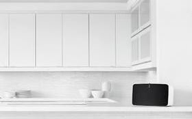 SONOS � It�s the wireless Hi-Fi music system that�s ideal for your Kitchen. Shown here is the Sonos Player 5. Call into DesignWorks WN3 4EL to discuss all options available.