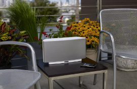 The SONOS wirelass HiFi System is also perfect  for your garden - whether you are having a family BBQ, friends round for a drink / party or just relaxing - you can select the music to suit your guests and the occasion.